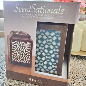 Large Scentsationals wax warme Sitara full size